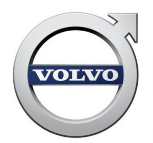 Image of the Volvo logo.