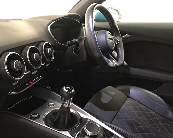 Big image of inside a Audi-TT