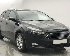 Front view image of a Ford Focus.