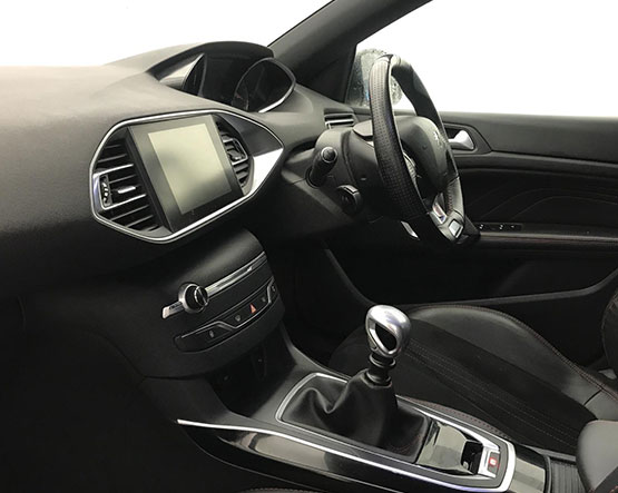 Inside view image of a Peugeot 308